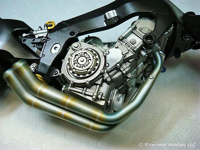 1/12 Tamiya Kawasaki ZX-RR Engine
